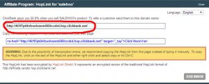 Партнерская ссылка в clickbank.com
