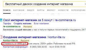 Минус-слова в объявлении Яндекс Директ