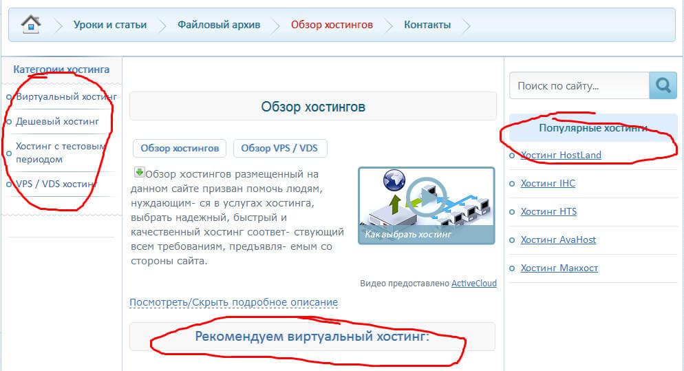 Хостинги скриншотов хостинг для modx revo своими руками