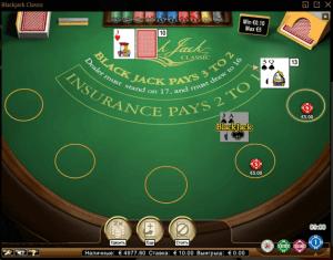 Игра в БлэкДжек в онлайн-казино