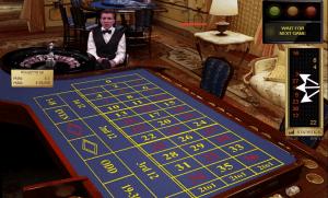 Пример игры по стратегии догона в рулетку