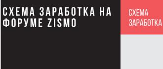 Заработок на форуме Зисмо (поинты, рефералы)