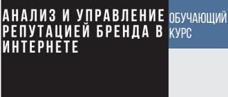 Чек-лист по управлению репутацией в интернете